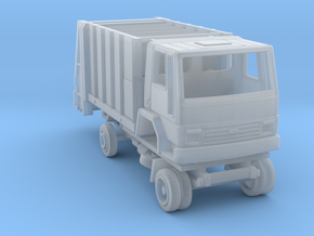 Ford Cargo garbage truck 1981 - 1:160 N in Smooth Fine Detail Plastic