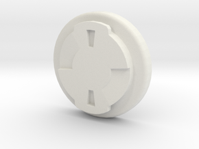 Wahoo Elemnt Replacement Mount in White Natural Versatile Plastic