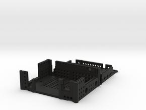 Protective box 1.2 Microhard motherboard pMDDL com in Black Natural Versatile Plastic