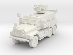 MRAP Cougar 6x6 mid 1/120 in White Natural Versatile Plastic