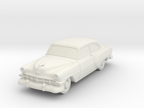 1954 Chevy 2 Door 210 in White Natural Versatile Plastic