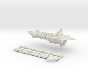 Nurgle_5_cruiser in White Natural Versatile Plastic