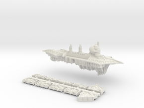 Nurgle_3_cruiser in White Natural Versatile Plastic