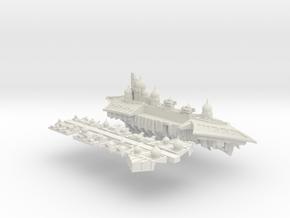 Slaanesh_8_cruiser in White Natural Versatile Plastic
