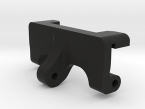 Axial Capra Rear Upper Link Riser in Black Natural Versatile Plastic