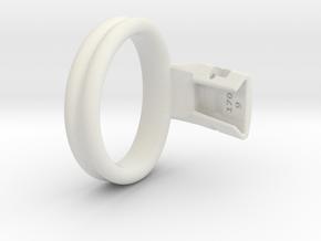 Q4e double ring M 54.1mm in White Premium Versatile Plastic