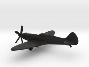 Supermarine Spitfire F Mk.XIV in Black Natural Versatile Plastic: 1:160 - N