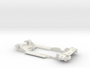 1/32 Carrera Porsche 935 K3 Chassis slot.it pod in White Natural Versatile Plastic