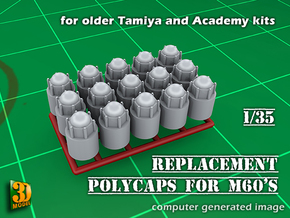 PolyCaps Tamiya/Academy M60s in Smooth Fine Detail Plastic