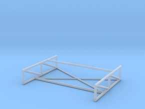 Chaparral 1 space frame  in Smoothest Fine Detail Plastic