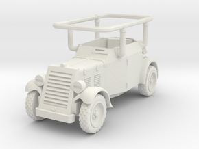 Adler Kfz 14 in White Natural Versatile Plastic