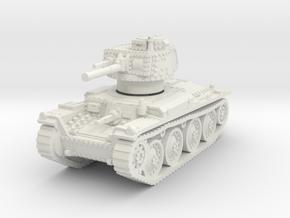 Panzer 38t D 1/100 in White Natural Versatile Plastic