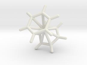 #40 D6dbis(benzene)-chromium (staggered) in White Natural Versatile Plastic