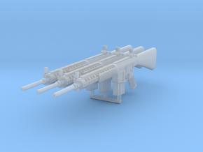 3x 1/24th MK11gun in Smoothest Fine Detail Plastic