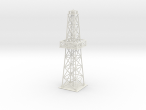 Oil rig - short in White Natural Versatile Plastic