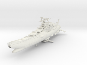 2500 Star Blazers Argo starship in White Natural Versatile Plastic