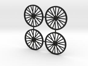 28mm N Gauge Colliery Winding Gear in Black Natural Versatile Plastic
