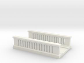 Concrete Bridge 1/160 in White Natural Versatile Plastic