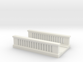Concrete Bridge 1/200 in White Natural Versatile Plastic