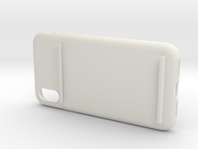 Wireless Charging Phone Case in White Natural Versatile Plastic