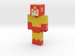 2019_02_08_heat-mega-man-12785441 | Minecraft toy in Natural Full Color Sandstone