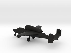 Heinkel He 162 Salamander in Black Natural Versatile Plastic: 1:144