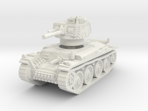 Panzer 38t G 1/76 in White Natural Versatile Plastic