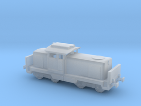 1/350th scale LDH45/M43 diesel locomotive in Smooth Fine Detail Plastic