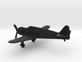Bloch MB.152 in Black Natural Versatile Plastic: 1:160 - N