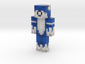 Ink_The_Wolf | Minecraft toy in Natural Full Color Sandstone