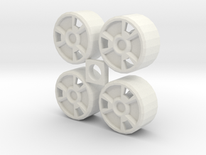 BrawnOutback configB in White Natural Versatile Plastic