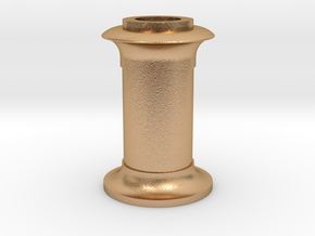 4DPGW001 - Replacement GWR 64xx Chimney (00 EM P4) in Natural Bronze