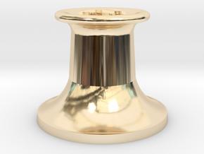4DPGW004 GWR Belpaire Safety Valve (Dean Goods) in 14k Gold Plated Brass