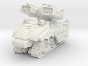 Gurzil Support Tank in White Natural Versatile Plastic