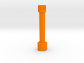 Nerf Star Wars A280-CFE Front Barrel in Orange Processed Versatile Plastic