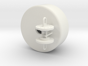 PEM13 support buoy - 1 mtr - 1:50 in White Natural Versatile Plastic