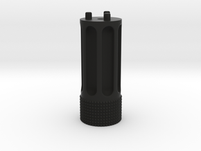 MG100 Extended Knob. in Black Natural Versatile Plastic