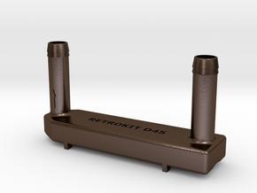 08-reacteur in Polished Bronze Steel