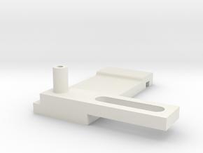AEG MG42 Extended HopUp SliderBar For AGM, S&T in White Natural Versatile Plastic