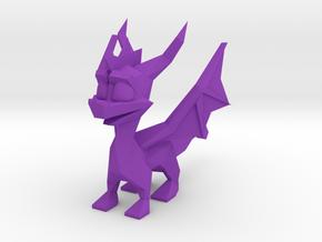 Spyro Low Poly Wings A in Purple Processed Versatile Plastic