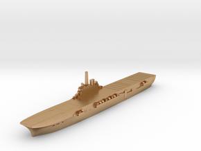 HMS Centaur carrier orig 1:3000 in Natural Bronze