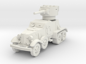 BA-6 (with Tracks) 1/100 in White Natural Versatile Plastic
