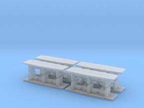 Modern Office Desk (x8) 1/220 in Smooth Fine Detail Plastic