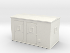 Transformer substation 1/160 in White Natural Versatile Plastic