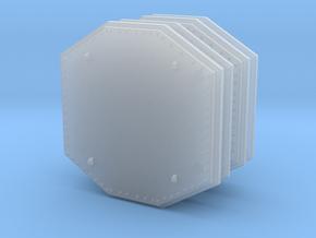 Aegis Radar Panel 01 . 1:144 Scale x4 Units in Smooth Fine Detail Plastic