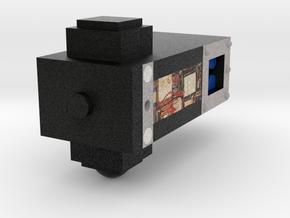 Sputnik to assemble - Thermal Barometric block in Natural Full Color Sandstone