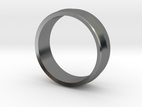 Alternative Penta Unisex Band Ring by V DESIGN LAB in Polished Silver