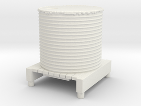 Water Tank 1/72 in White Natural Versatile Plastic