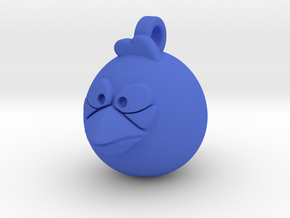 Angry Birds-Jay Jake Jim Keychain in Blue Processed Versatile Plastic