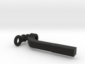 SCX24 Universal trailer tongue in Black Natural Versatile Plastic